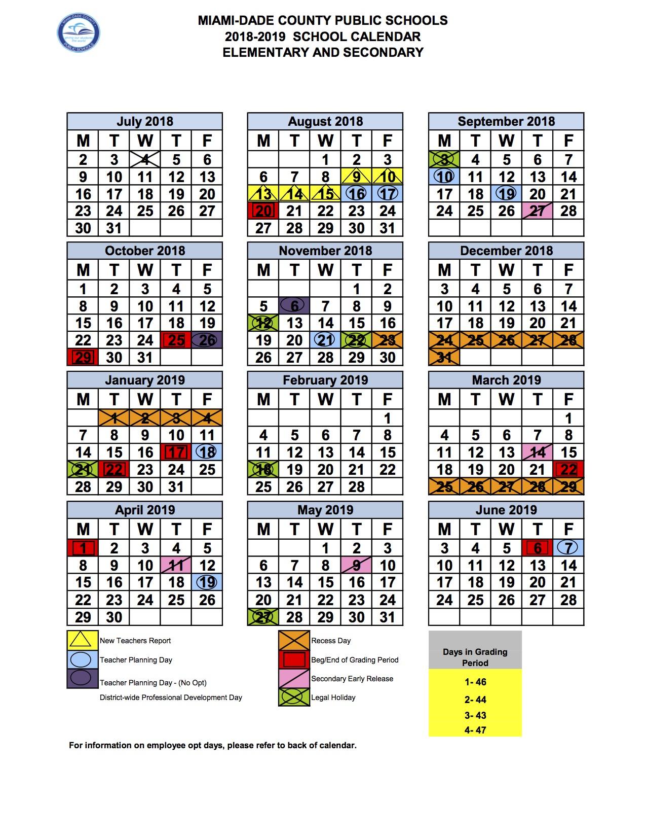 Dade School Calendar 2019 Somerset Academy Dade